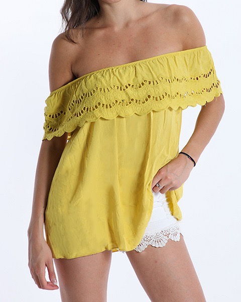 BLUSA RANCHERA YELLOW