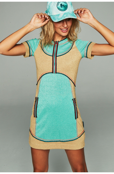 VESTIDO PUNTO LUREX HIGHLY PREPPY